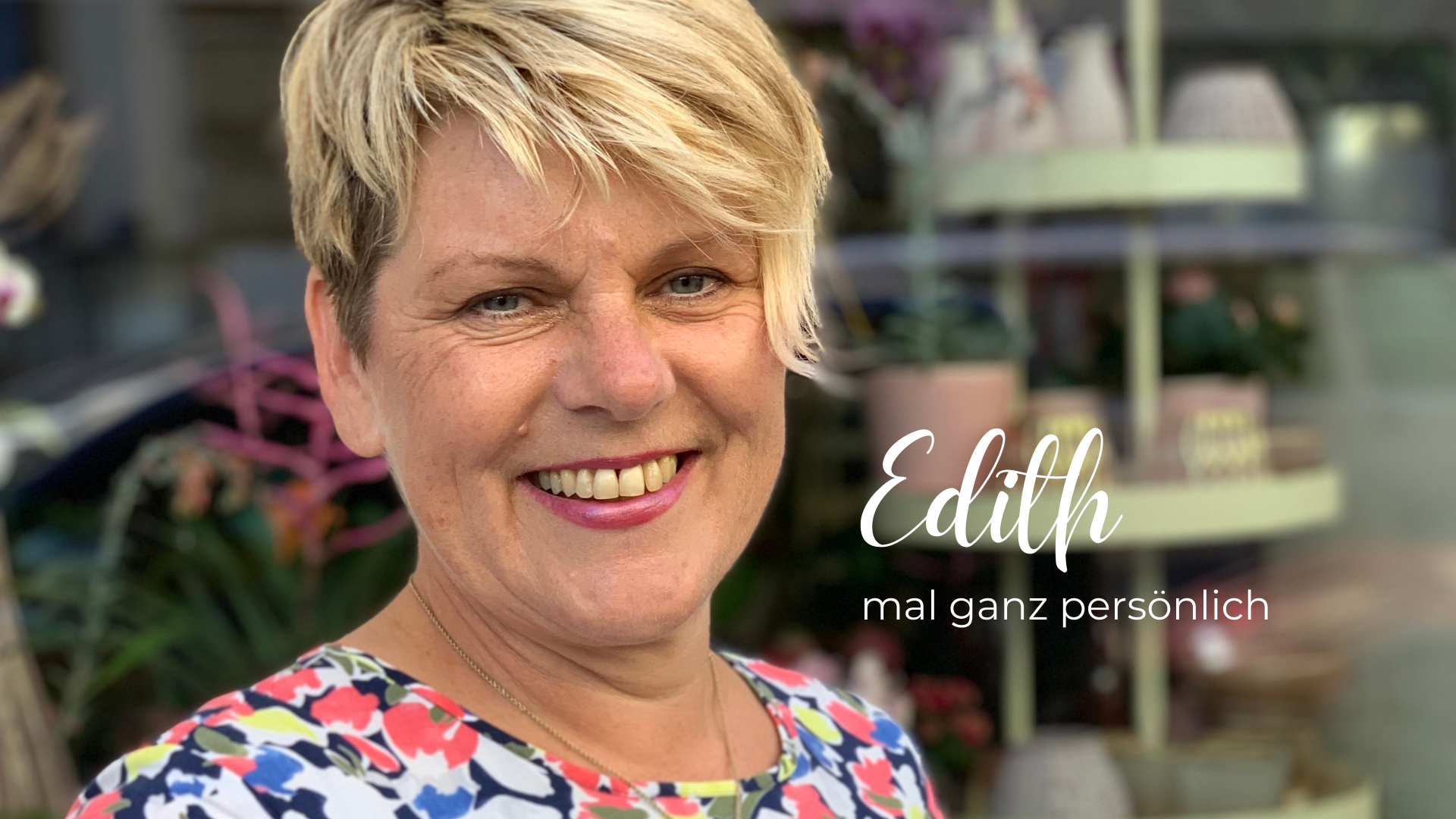 Read more about the article EDITH, ICH HÖR' DICH IMMER NUR MECKERN!